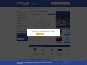 Quelle est la valeur estimée de agorastore.fr ?