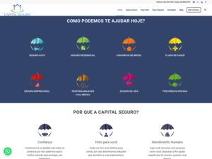 Quelle est la valeur estimée de capitalseguro.com.br ?