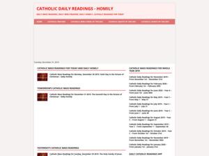 Quelle est la valeur estimée de catholicreadings.org ?