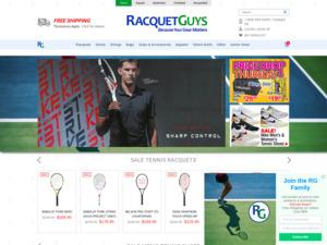 Quelle est la valeur estimée de racquetguys.ca ?