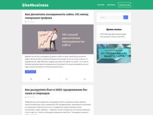 Quelle est la valeur estimée de site4business.net ?