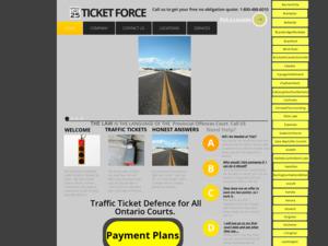 Quelle est la valeur estimée de ticketforce.ca ?