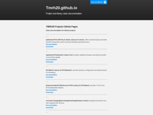 Quelle est la valeur estimée de tmrh20.github.io ?