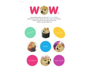 Quelle est la valeur estimée de wowjs.uk ?